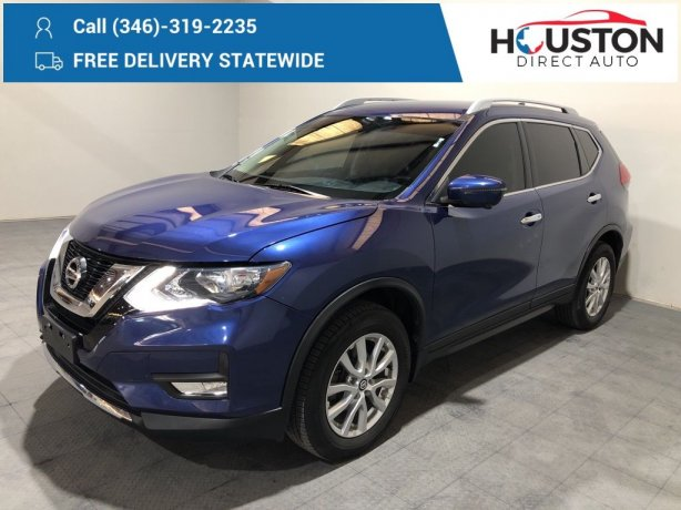 Used 2017 Nissan Rogue for sale in Houston TX.  We Finance!