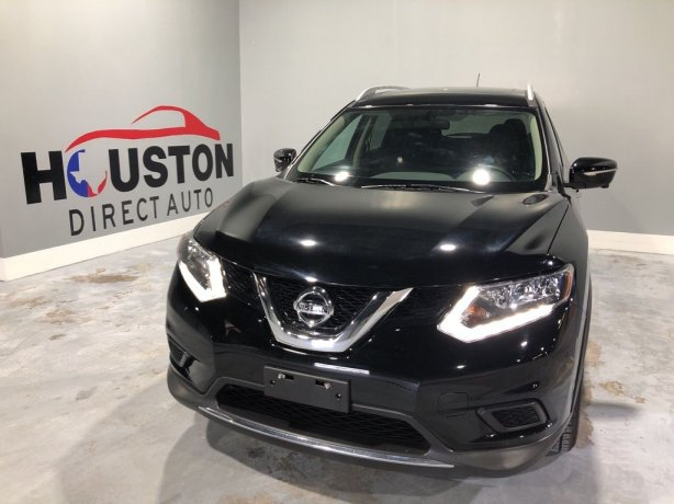 Used 2015 Nissan Rogue for sale in Houston TX.  We Finance!