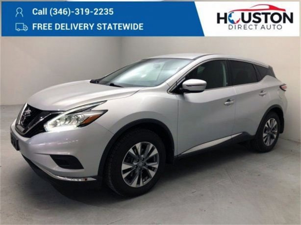 Used 2015 Nissan Murano for sale in Houston TX.  We Finance!