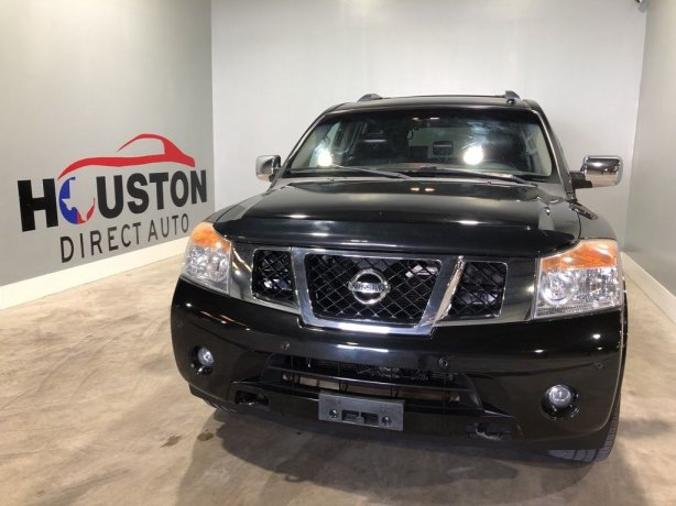 Used 2013 Nissan Armada for sale in Houston TX.  We Finance!