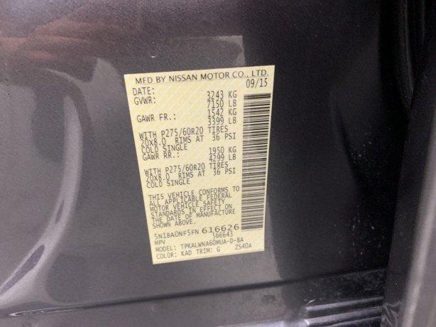 Nissan Armada cheap for sale near me