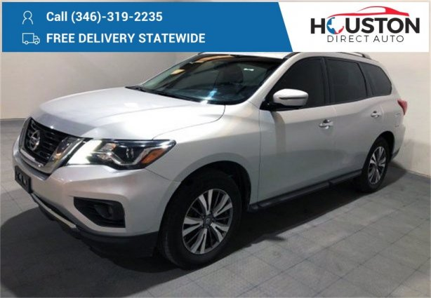 Used 2017 Nissan Pathfinder for sale in Houston TX.  We Finance!