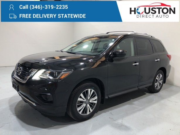 Used 2019 Nissan Pathfinder for sale in Houston TX.  We Finance!