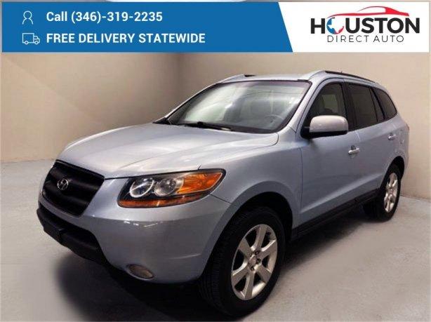 Used 2008 Hyundai Santa Fe for sale in Houston TX.  We Finance!