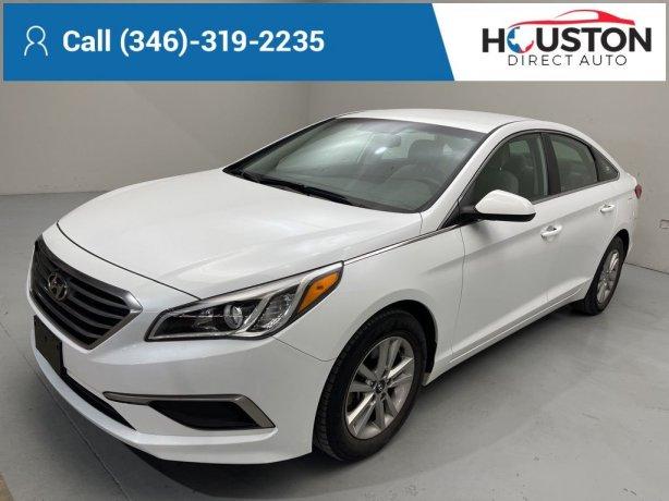 Used 2016 Hyundai Sonata for sale in Houston TX.  We Finance!