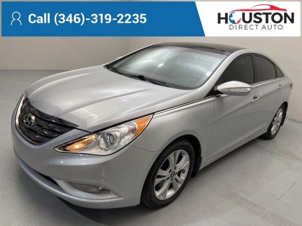 Used 2012 Hyundai Sonata for sale in Houston TX.  We Finance!
