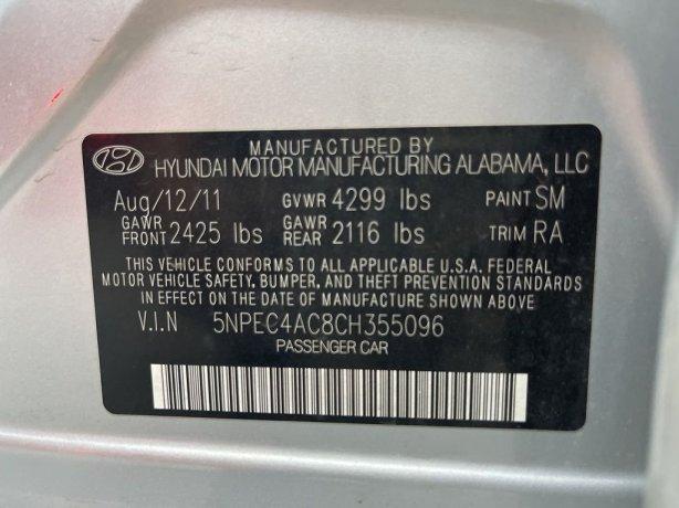 Hyundai Sonata 2012 near me