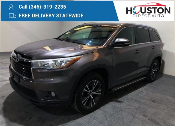 Used 2016 Toyota Highlander for sale in Houston TX.  We Finance!