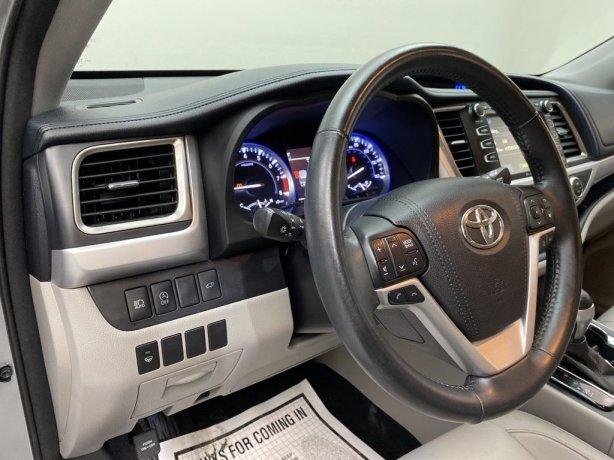 2017 Toyota Highlander for sale Houston TX