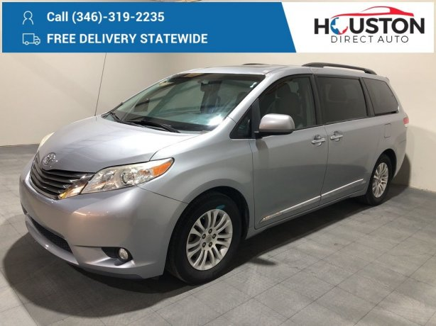 Used 2014 Toyota Sienna for sale in Houston TX.  We Finance!