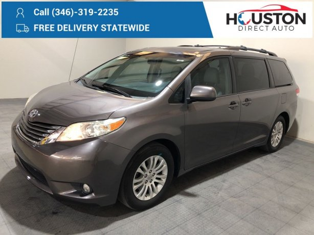 Used 2011 Toyota Sienna for sale in Houston TX.  We Finance!