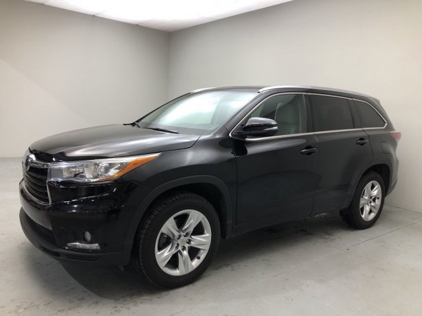 Used 2015 Toyota Highlander for sale in Houston TX.  We Finance!