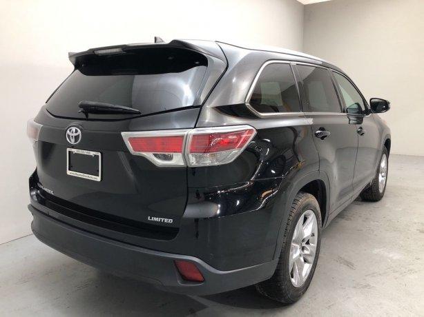 used Toyota Highlander