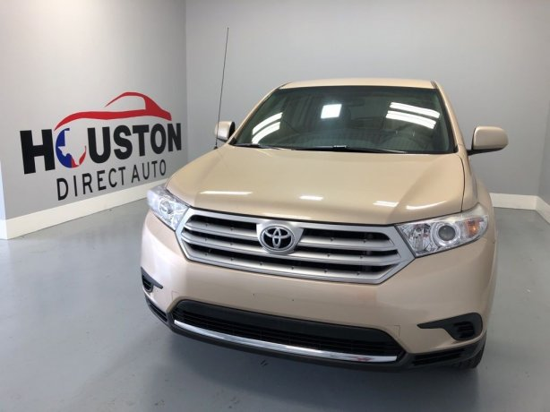 Used 2011 Toyota Highlander for sale in Houston TX.  We Finance!