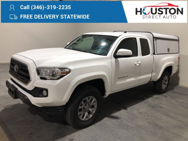 Used 2017 Toyota Tacoma for sale in Houston TX.  We Finance!