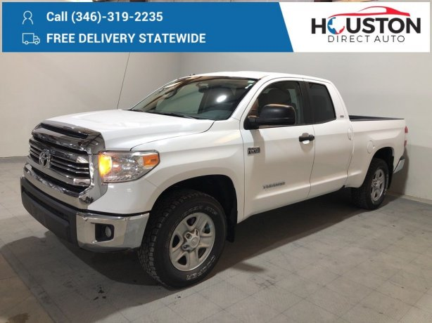 Used 2017 Toyota Tundra for sale in Houston TX.  We Finance!