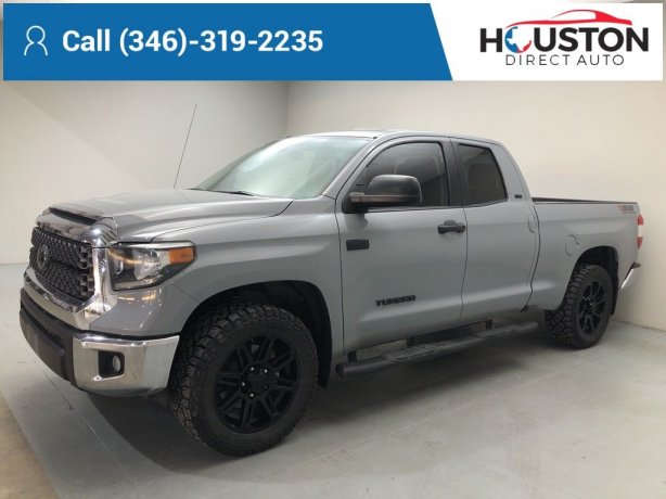 Used 2018 Toyota Tundra for sale in Houston TX.  We Finance!