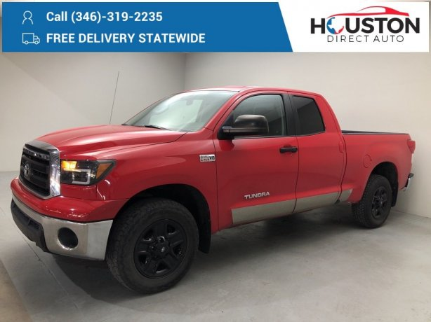 Used 2011 Toyota Tundra for sale in Houston TX.  We Finance!