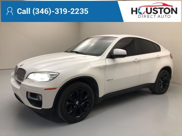 Used 2014 BMW X6 for sale in Houston TX.  We Finance!