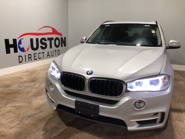 Used 2015 BMW X5 for sale in Houston TX.  We Finance!