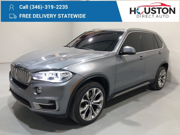 Used 2018 BMW X5 for sale in Houston TX.  We Finance!