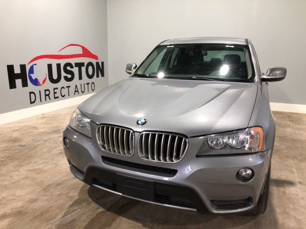 Used 2014 BMW X3 for sale in Houston TX.  We Finance!