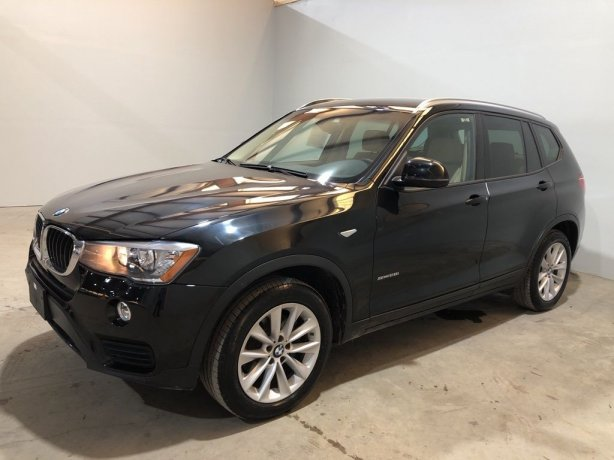 Used 2017 BMW X3 for sale in Houston TX.  We Finance!
