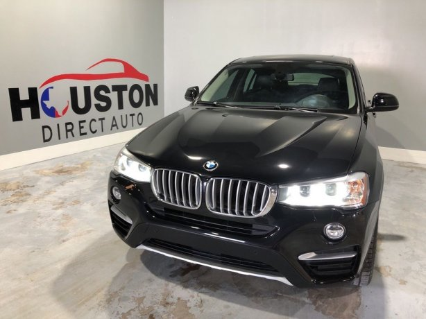 Used 2015 BMW X4 for sale in Houston TX.  We Finance!