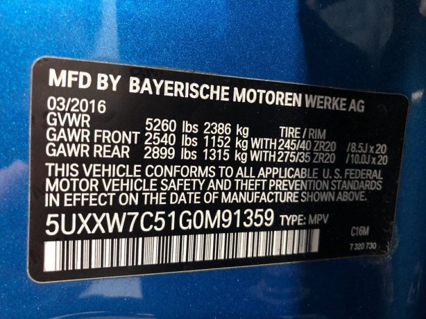 BMW X4 cheap for sale near me