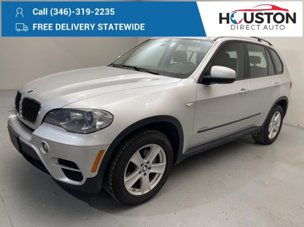 Used 2013 BMW X5 for sale in Houston TX.  We Finance!