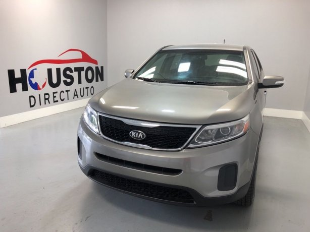 Used 2014 Kia Sorento for sale in Houston TX.  We Finance!