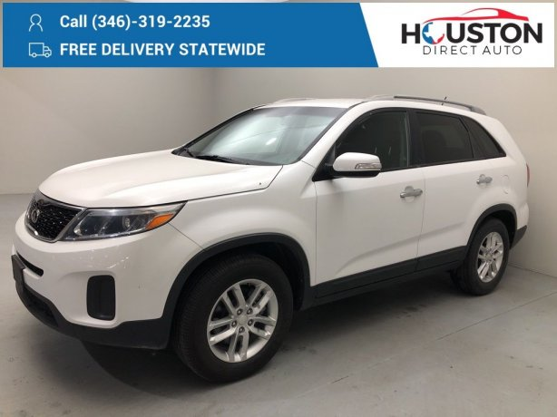 Used 2015 Kia Sorento for sale in Houston TX.  We Finance!