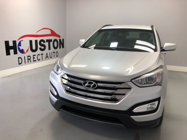 Used 2013 Hyundai Santa Fe for sale in Houston TX.  We Finance!