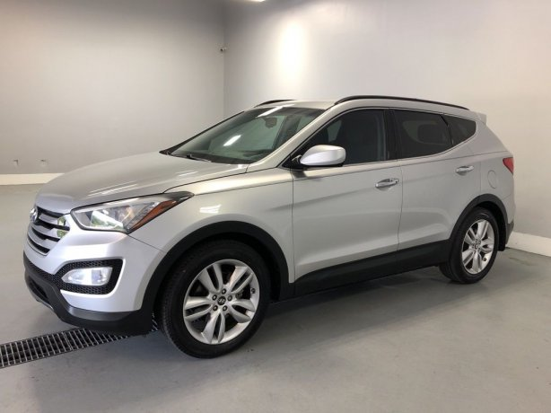Used Hyundai Santa Fe for sale in Houston TX.  We Finance!