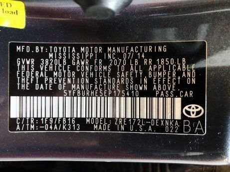 Toyota Corolla cheap for sale