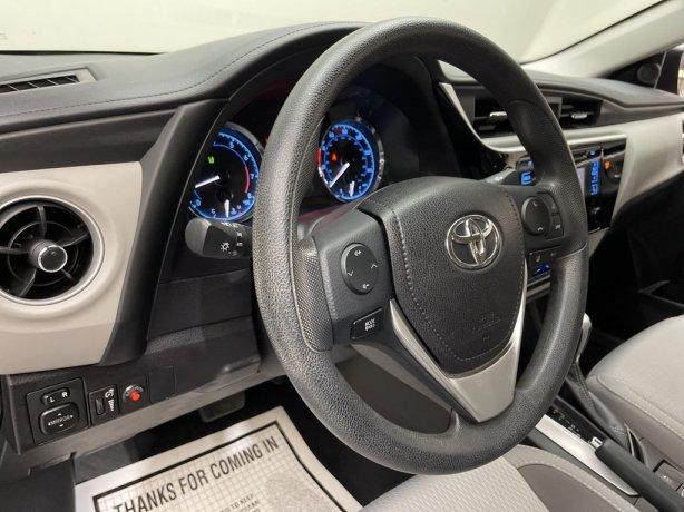 2017 Toyota Corolla for sale Houston TX
