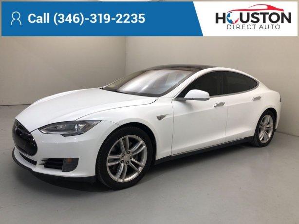 Used 2013 Tesla Model S for sale in Houston TX.  We Finance!