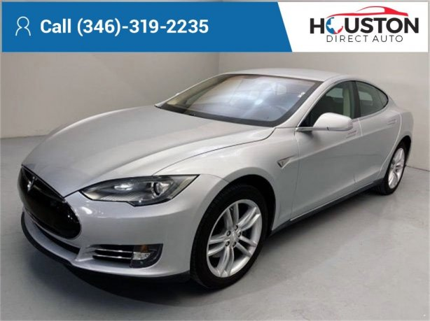 Used 2012 Tesla Model S for sale in Houston TX.  We Finance!