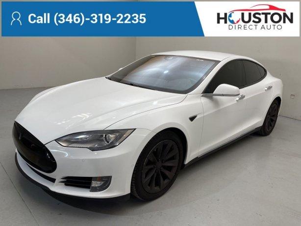 Used 2016 Tesla Model S for sale in Houston TX.  We Finance!