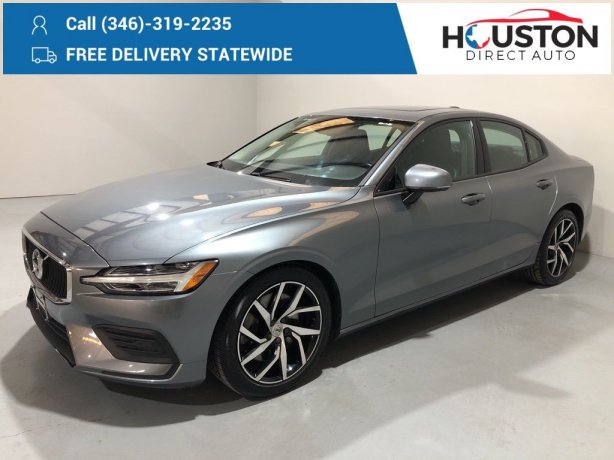 Used 2019 Volvo S60 for sale in Houston TX.  We Finance!