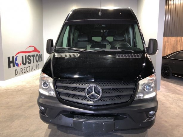 Used 2016 Mercedes-Benz Sprinter 2500 for sale in Houston TX.  We Finance!