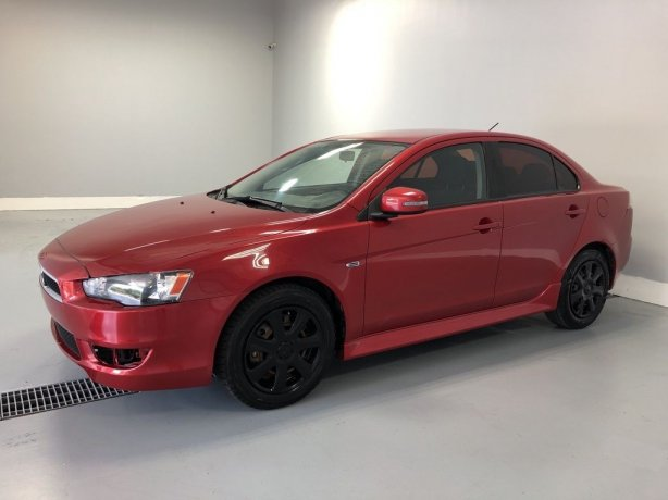 Used Mitsubishi Lancer for sale in Houston TX.  We Finance!
