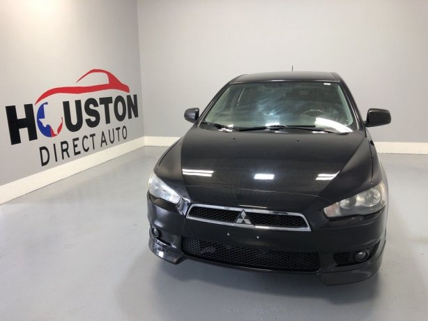 Used 2011 Mitsubishi Lancer for sale in Houston TX.  We Finance!