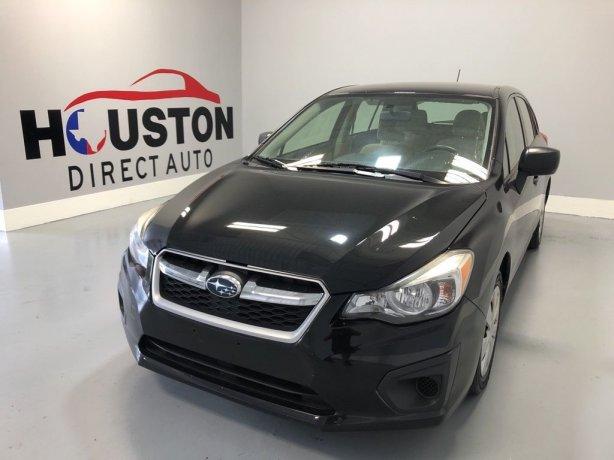 Used 2013 Subaru Impreza for sale in Houston TX.  We Finance!