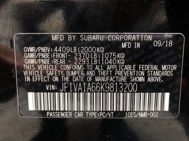 Subaru WRX cheap for sale near me