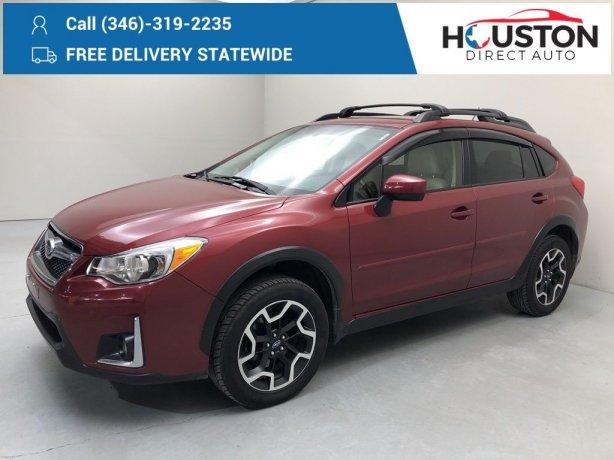 Used 2017 Subaru Crosstrek for sale in Houston TX.  We Finance!