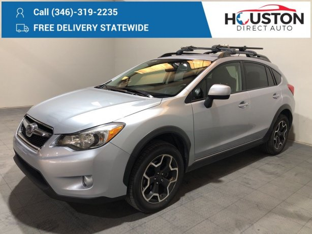 Used 2014 Subaru XV Crosstrek for sale in Houston TX.  We Finance!