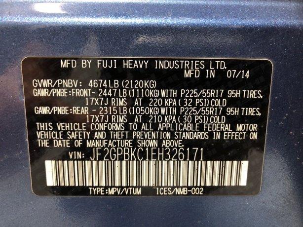 Subaru XV Crosstrek cheap for sale near me