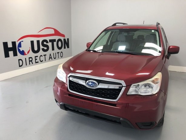 Used 2014 Subaru Forester for sale in Houston TX.  We Finance!