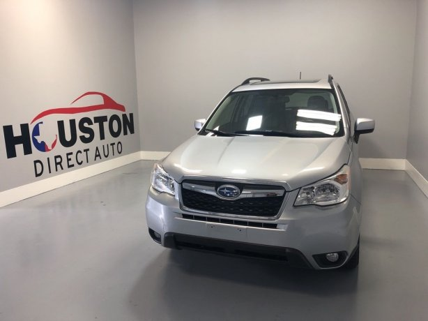 Used 2015 Subaru Forester for sale in Houston TX.  We Finance!